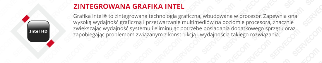 Zintegorwana karta graficzna, Intel HD Graphics